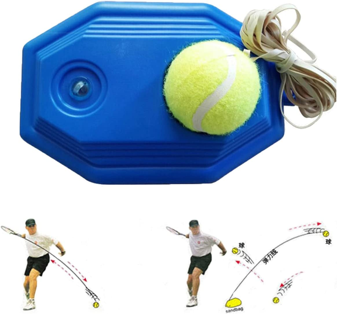 grofitness pelota de tenis máquina de rebote tenis Trainer Set ...