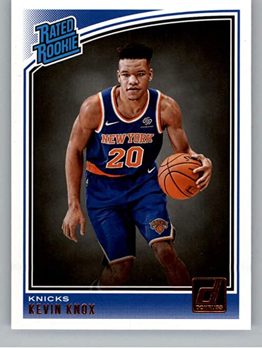 Frank Ntilikina and an RJ Barrett Rookie Card Plus New York Knicks 2019 2020 Hoops Basketball Factory Sealed 9 Card Team Set with Kevin Knox