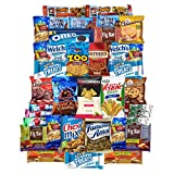 Crunch N Munch Care Package Snacks, Cookies, Candy, Chips, & Bars (40 Count) by Variety Fun