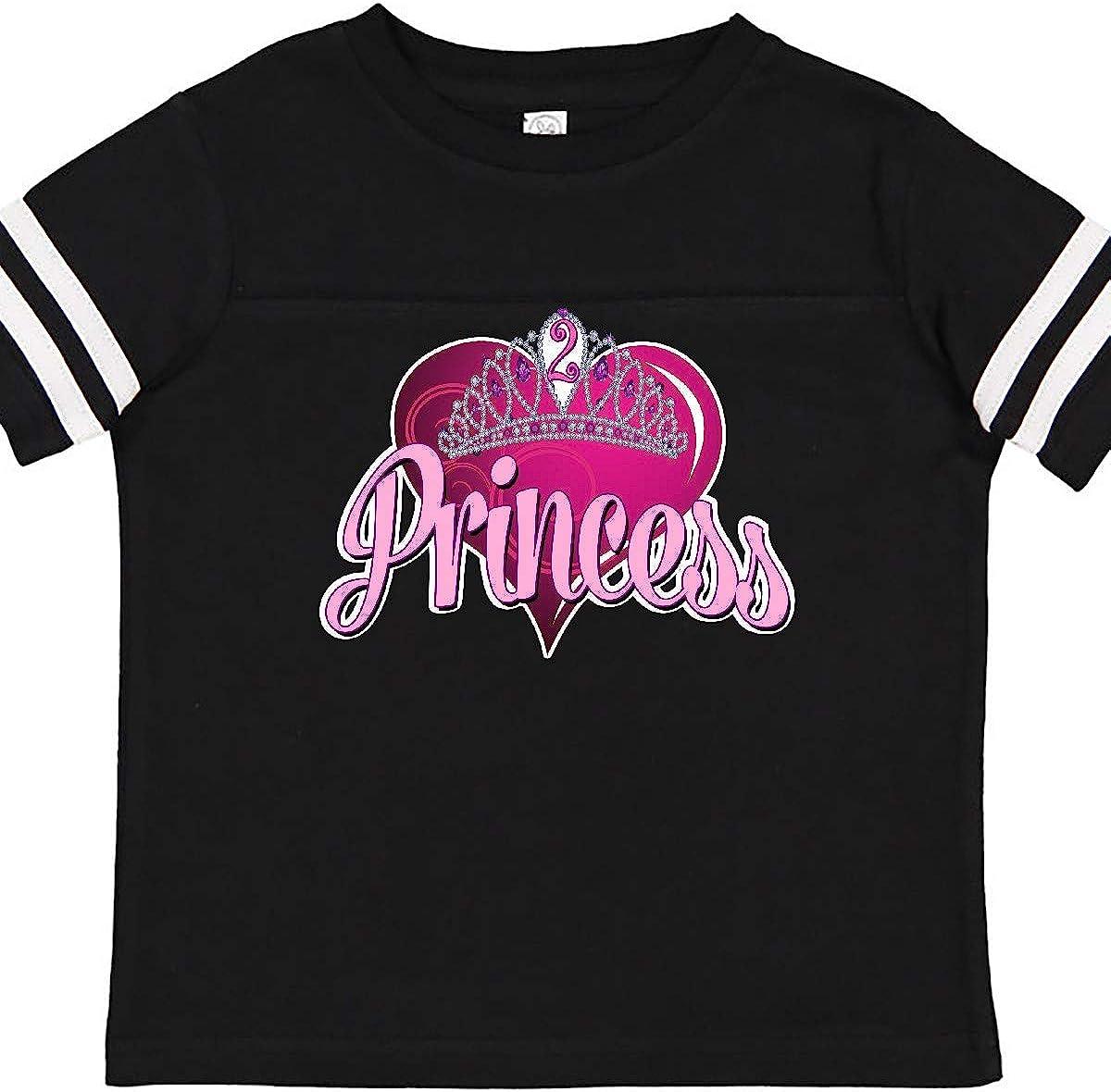 inktastic Princess 2nd Birthday Toddler T-Shirt