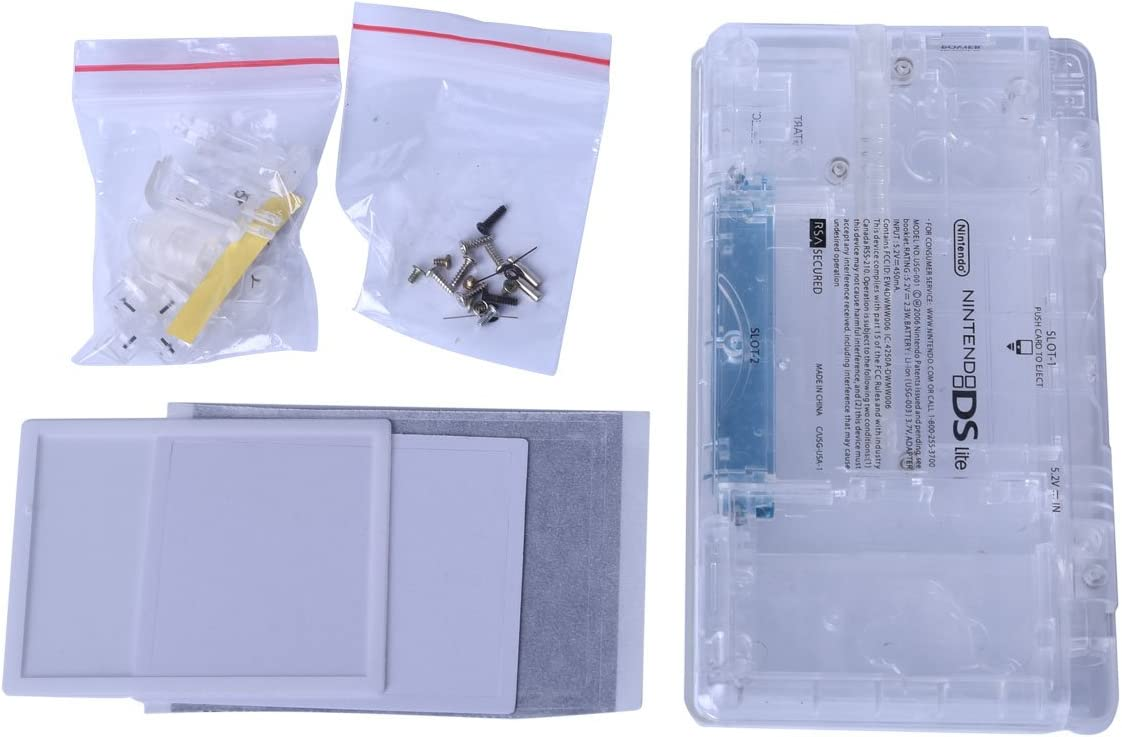 Amazon.com: Transparent NDSL replacement Case, Full Repair ...