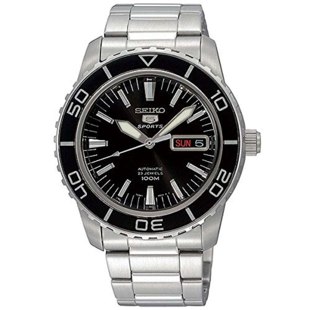 Amazon Seiko 5 SPORTS Automatic MADE IN JAPAN Waterproof 330 Feet Watch SNZH55J1 Watches