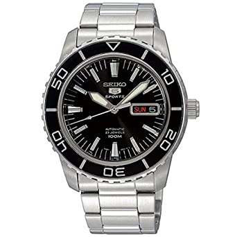 5ed5cbe8c Image Unavailable. Image not available for. Color: Seiko 5 SPORTS Automatic  MADE IN JAPAN waterproof 330 feet Watch ...