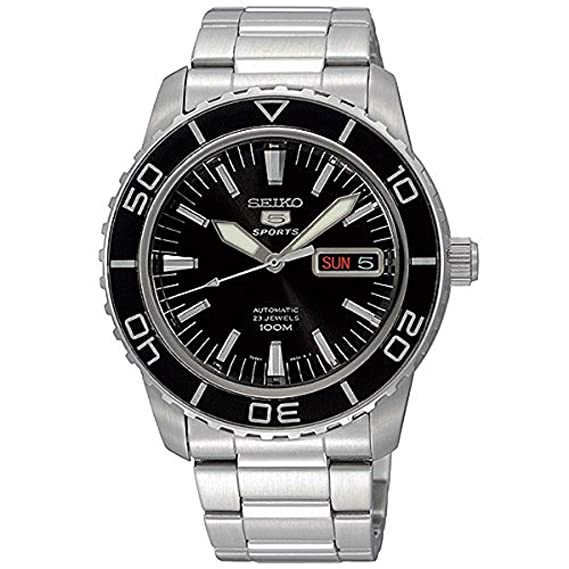 727dfc133 Seiko 5 SPORTS Automatic MADE IN JAPAN Diver Watch [SNZH55J1]: Seiko:  Amazon.ca: Watches