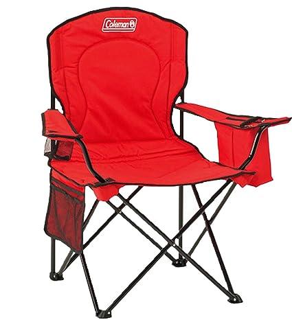Amazon.com: Coleman Cooler Quad Chair, talla única), color ...