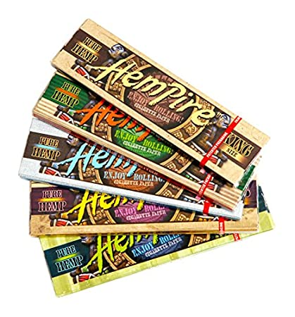 Hempire King Size {5 Packs} KS Hemp Rolling Papers