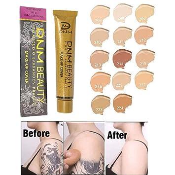 Tattoo Cover Corrector - Spots profesionales Base de crema Cara ...