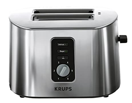 Amazon KRUPS TT6170 2 Slice Toaster with Bagel Function and