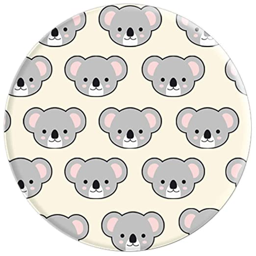 Amazon.com: Koala Pop Socket Kawaii Animal Lover Birthday Christmas Gift - PopSockets Grip and Stand for Phones and Tablets: Cell Phones & Accessories