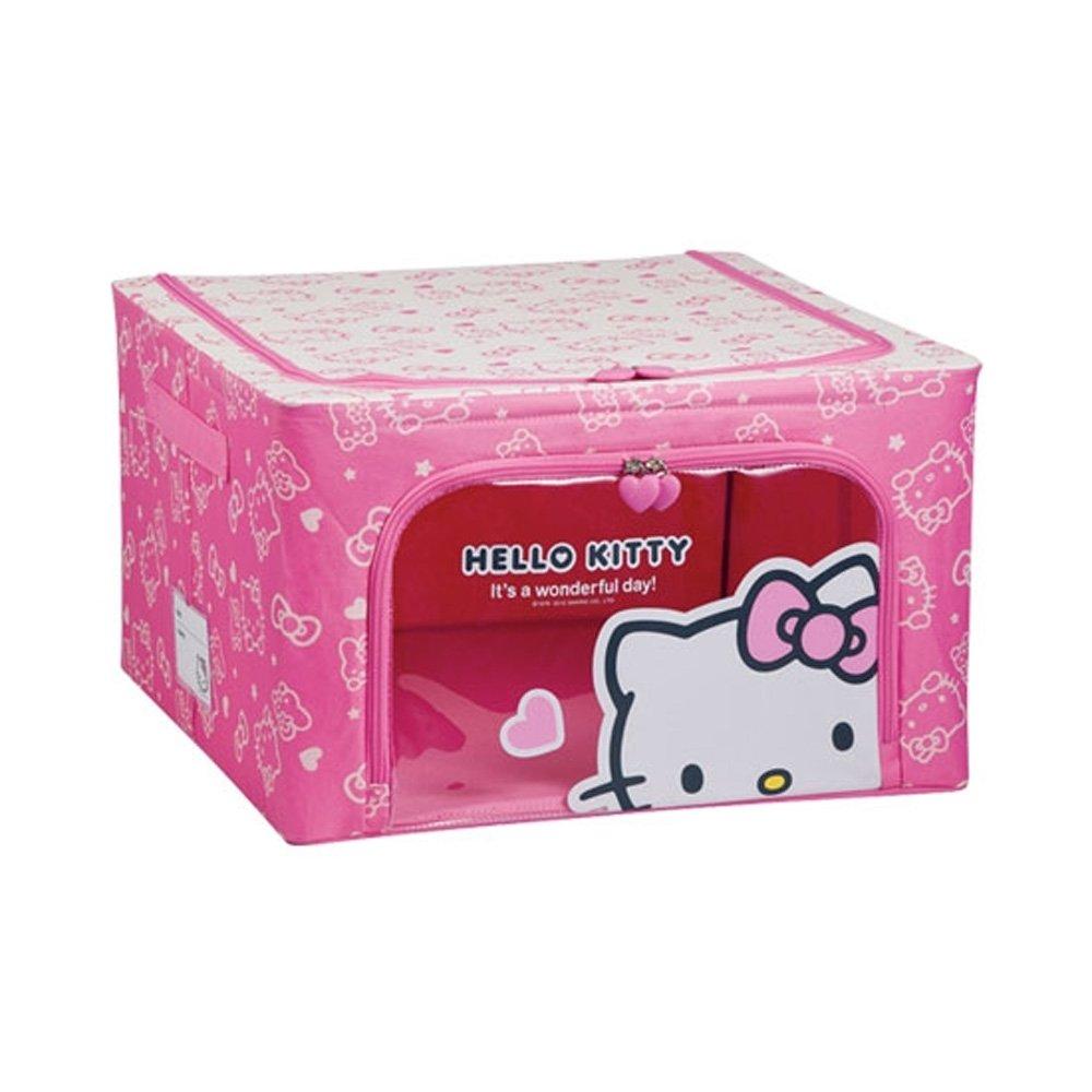 Lock & Lock Hello Kitty fabric holder 44L Pink LKT154P