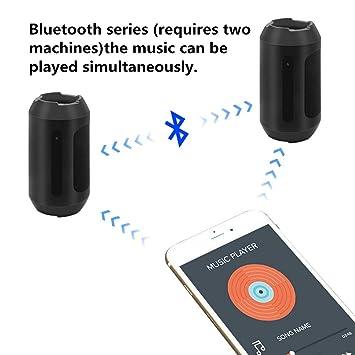 cámara Oculta del Altavoz del Bluetooth, cámara Nana inalámbrica de la Mini cámara de la niñera de la detección de Movimiento de la cámara espía 1080P con ...
