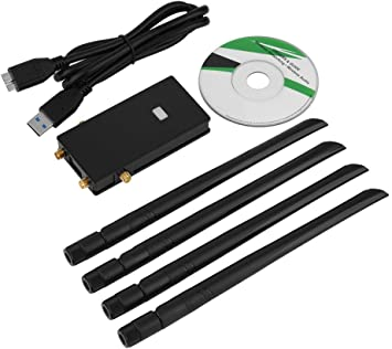 Windows 10 // Windows 8 64bit Zopsc USB2.0 Network Card RT3572 300Mbps 2.4G//5Ghz Dual Band N700 Network Card for Samsung Smart TV and Computer Dual-use Support for Windows 7
