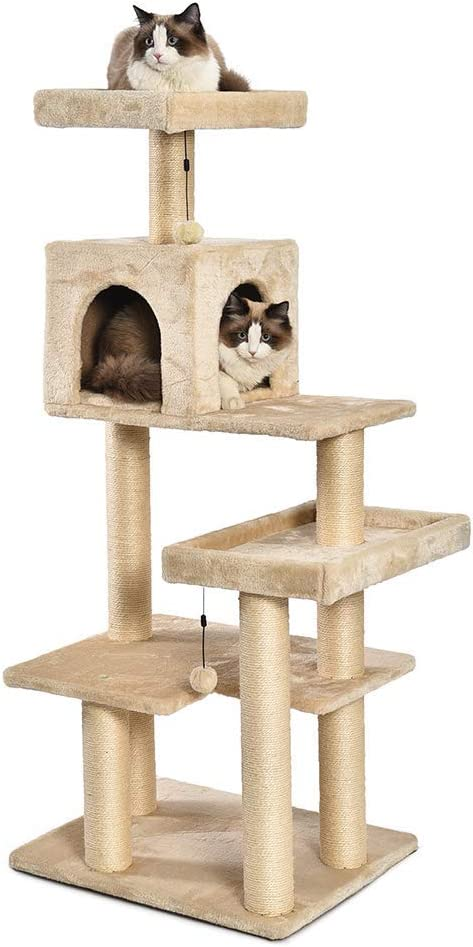 AmazonBasics Multi-Level Cat Tree Renewed