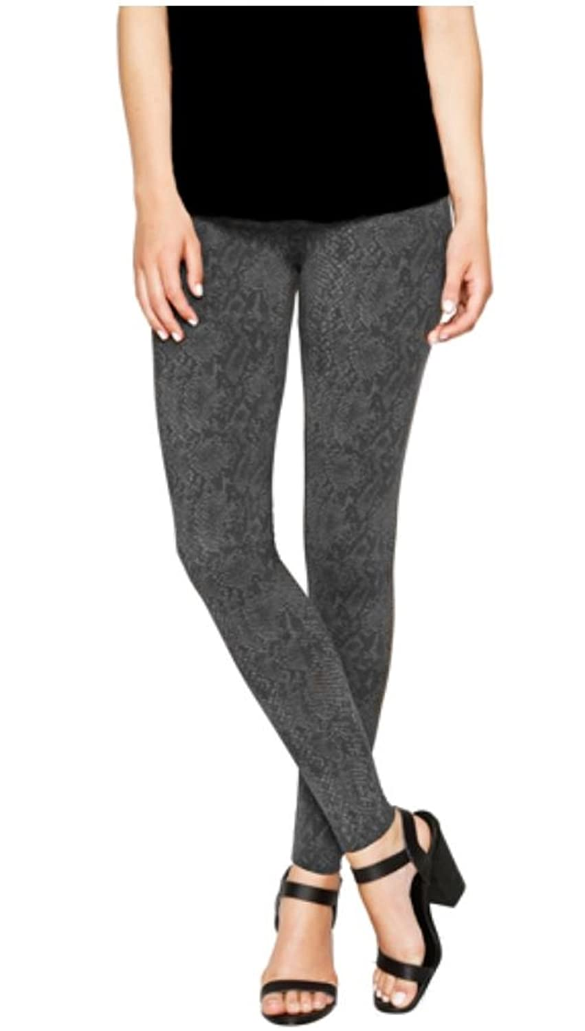 adfbc97dd0c4cc Matty M. Thick Material Leggings with Wide Elastic Band (Charcoal Print,  XX-Large) at Amazon Women's Clothing store: