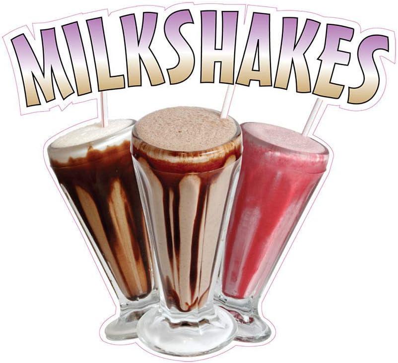 Milkshakes Concession Restaurant Food Truck Die-Cut Vinyl Sticker 8