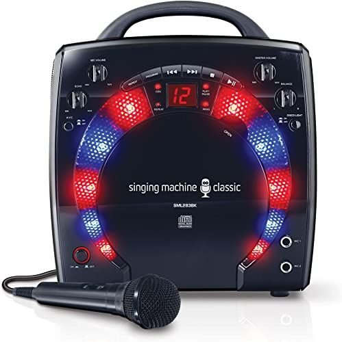Singing Machine SML283BK CDG Karaoke Player