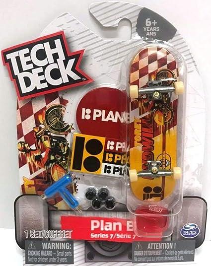 Amazon com: Tech Deck PLAN B Series 7 Torey Pudwill Ultra Rare