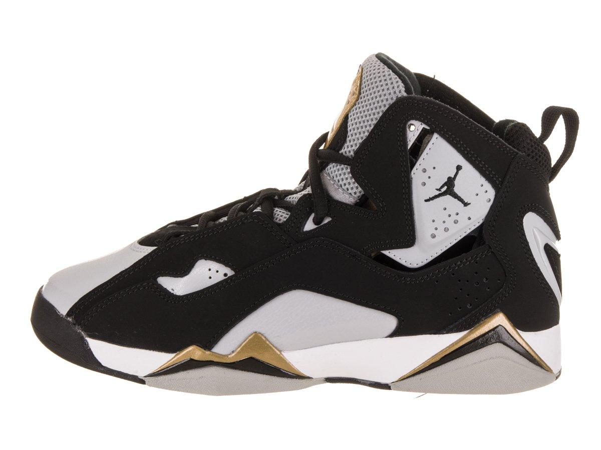 8bc1cdda19ef Amazon.com  Jordan Nike Kids True Flight BG Black Black Wolf Grey White  Basketball Shoe 6.5 Kids US  Sports   Outdoors