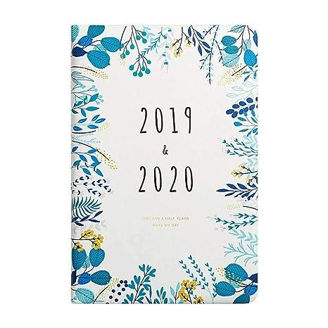 Zifamaoyi 2019-2020 Planificador De Agenda Mensual Semanal ...