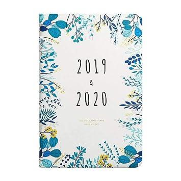 Xugangjingmao 2019-2020 Planificador De Agenda Mensual ...