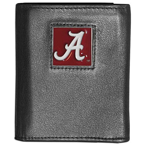 NCAA Alabama Crimson Tide Leather Tri-Fold Wallet ()