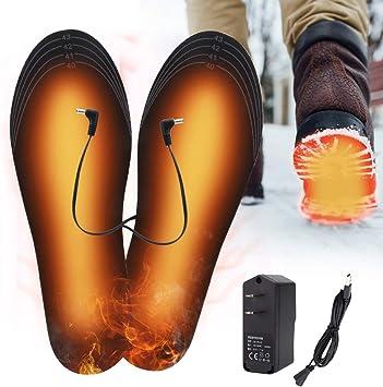 Beheizbare Schuh Sohlen Thermosohlen USB Heizsohle Shuhheizung Wärmesohlen Warm