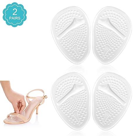 Doact Plantillas de Zapatos con Tacón Alto (2 pares) Proteger los Pies c5f6714d8172
