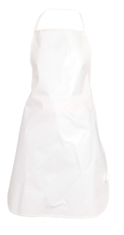 Delantal PVC Blanco Pamex