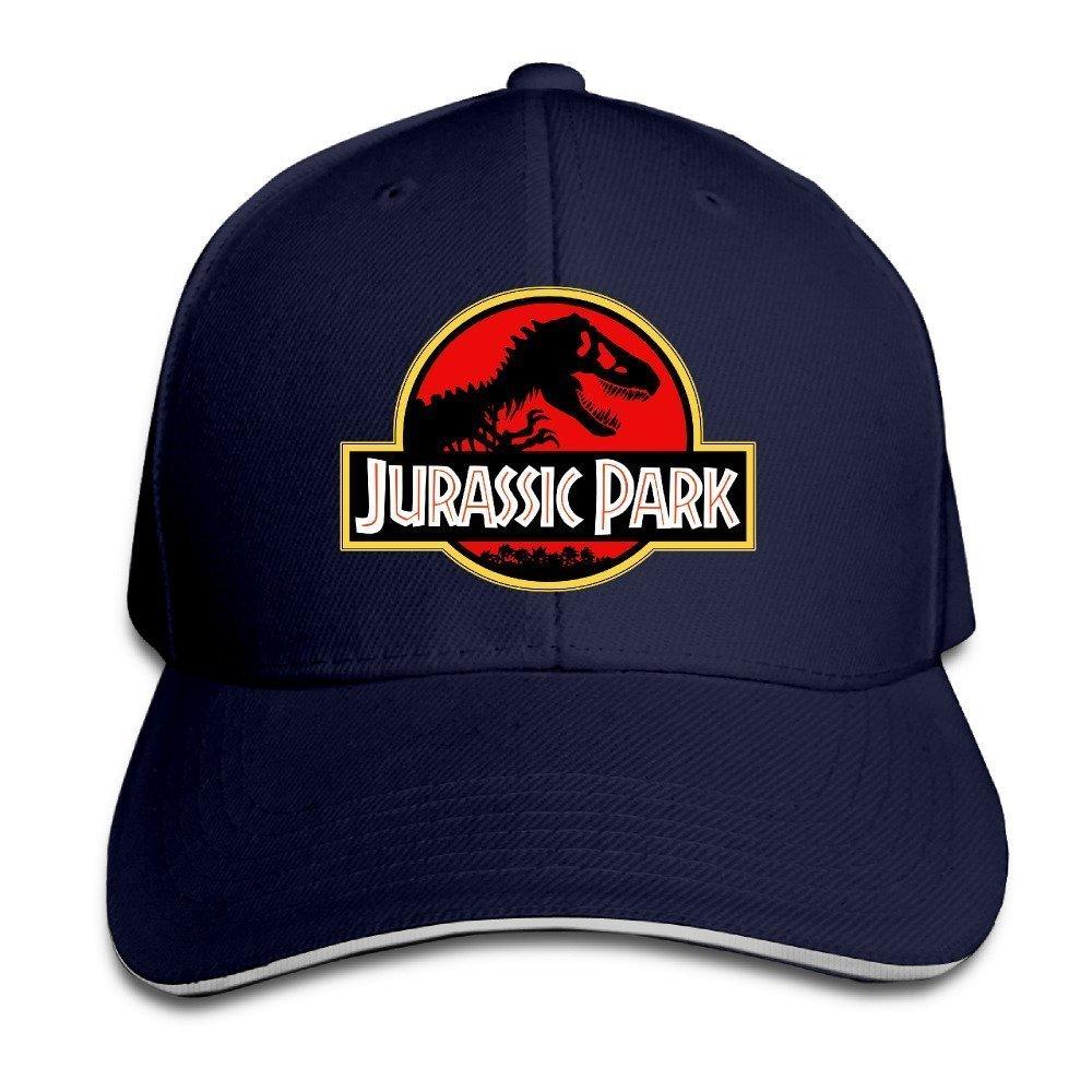 Yhsuk Jurassic Park Sandwich Peaked Hat//Cap Navy