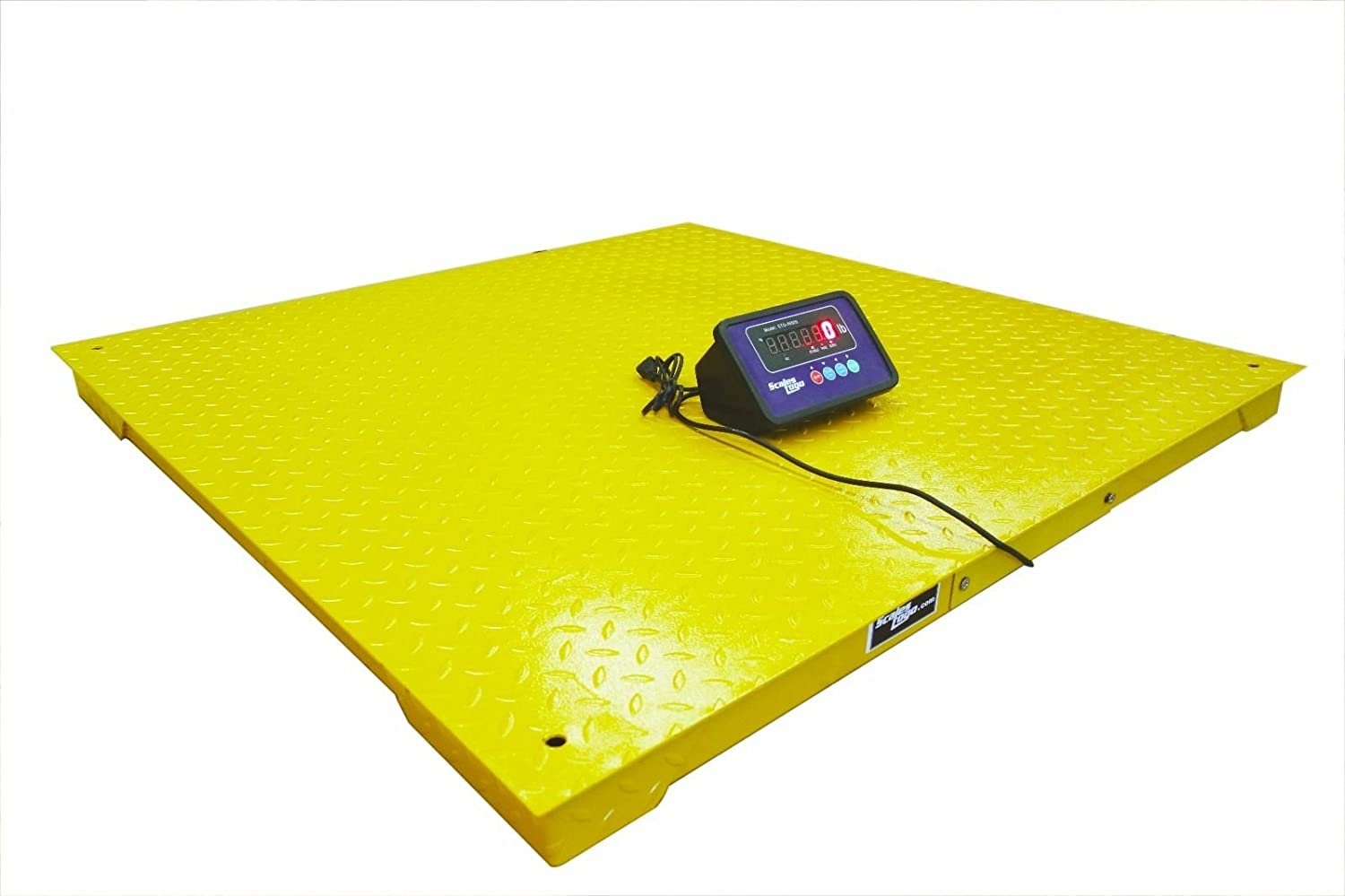 Heavy Duty 5,000 lb Floor Scale 40x40 with Indicator