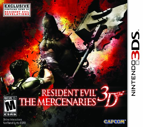 Resident Evil Mercenaries 3D - 3DS