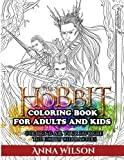 The Hobbit Coloring Book for Adults and Kids: Coloring All Your Favorite The Hobbit Characters