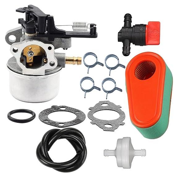 Carburador limpiador de filtro de aire Pre Válvula de combustible ...