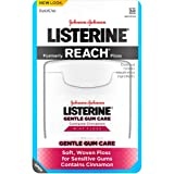 Listerine Gentle Gum Care Interdental Floss, Oral Care, Mint, 50 Yards (Pack of 6)