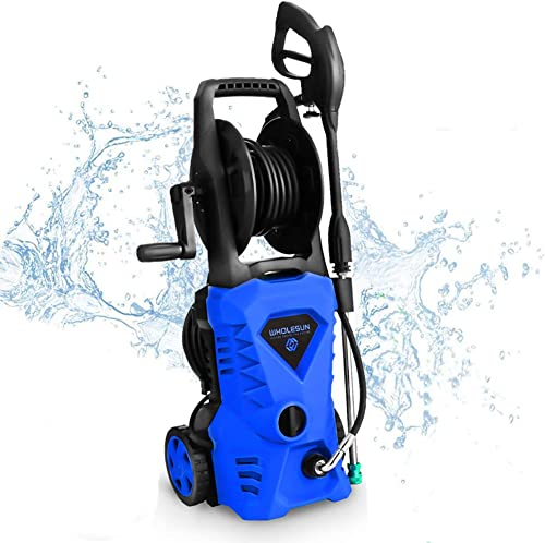 WHOLESUN 3000PSI Electric Pressure Washer 1.8GPM 1600W Power Washer