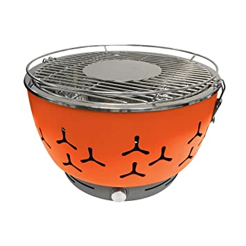 Foggo Grill Barbacoa portátil GO BBQ Fuego & Grill emite Humo/Muy fácil de Limpiar