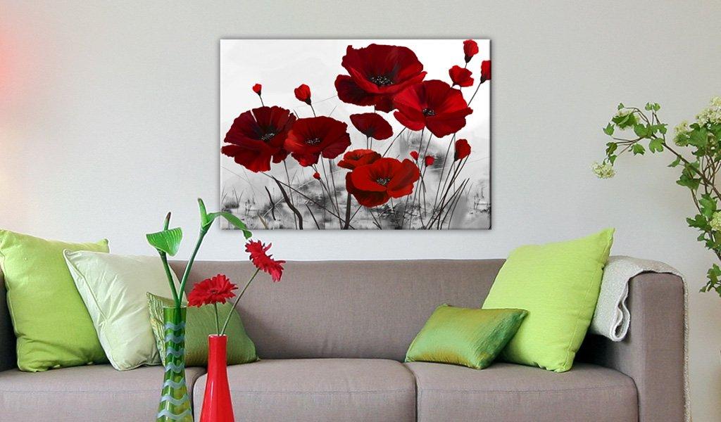 Le tableau de fleurs, grande tendance déco murale pas cher