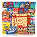 Party Snack Gift Bundle Care Package 40 Count from duogreen