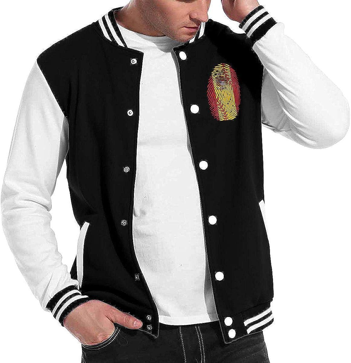 Spain Flag Baseball Its in My DNA Baseball Jacket Uniform Men Women Varsity Premium Jacket Sweater Coat