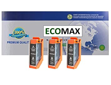 Amazon.com: ECOMAX 3 unidades PGI-250 X LBK, 6432b001 nuevo ...