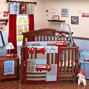 Amazon Com Engine 27 6 Piece Baby Crib Bedding Set By
