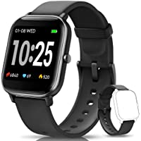 AIMIUVEI Smartwatch, Reloj Inteligente IP67 con Pulsómetro, Presión Arterial, 7 Modos de Deportes y GPS, Monitor de…