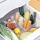 Vepson Fruit Storage Boxes Vegetables Kitchen Refrigerator Freezer Storage Box