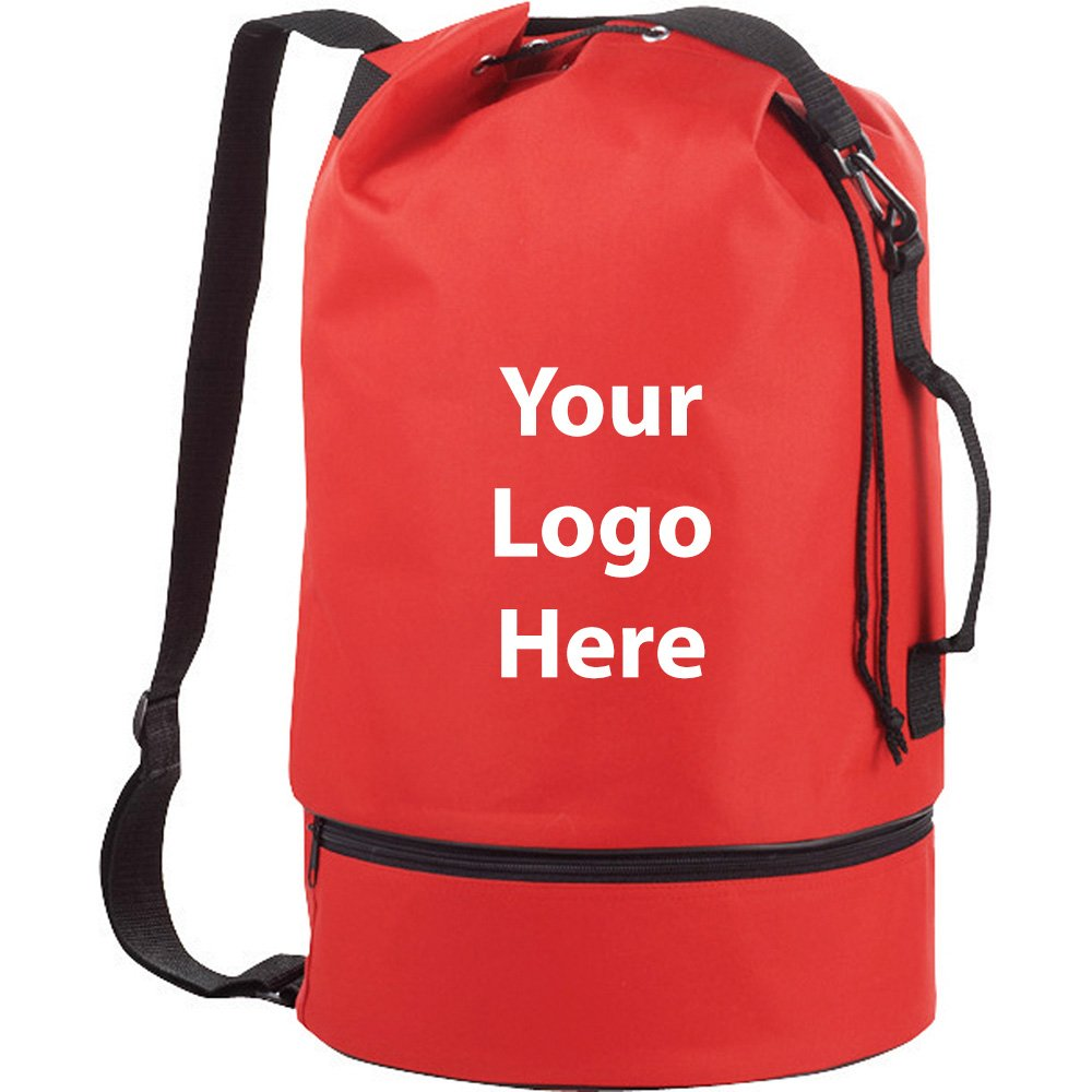 Sailor Drawstring Duffel Sling - 50 Quantity - $6.90 Each - PROMOTIONAL PRODUCT / BULK / BRANDED with YOUR LOGO / CUSTOMIZED by Sunrise Identity
