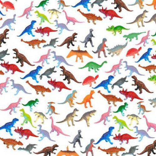 German Trendseller® - 24 x Dinosaurier Figuren ┃ Lebensecht ┃ Dino ┃ Kindergeburtstag ┃ Spielen Lernen und Sammeln