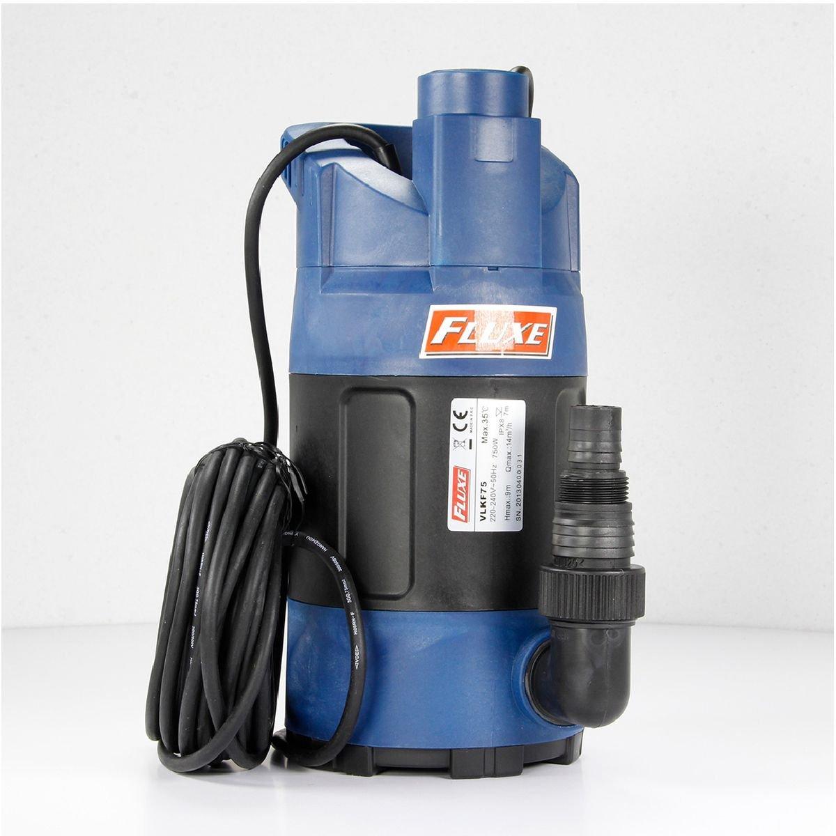 Brico-materiaux - Vide cave flotteur intégré VLKF75 / Plastique Bricodeal