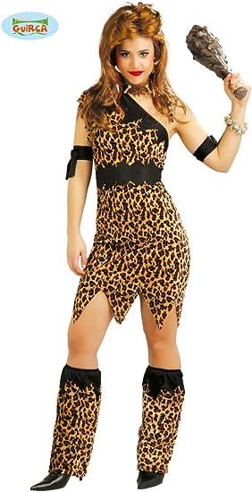 Disfraz para mujer de Troglodita o Cavernícola: Amazon.es ...