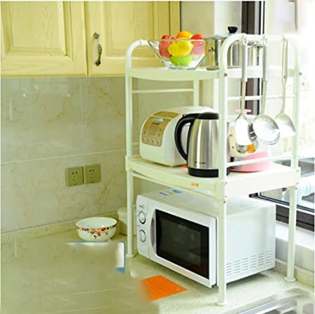 ZTMN Estante de Almacenamiento Cocina Estante de microondas ...