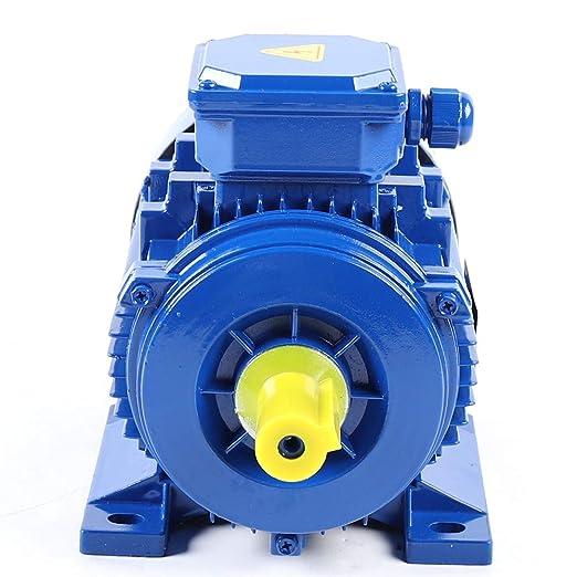 Elektromotor 3 Phas Elektromotor 380v 1 5kw Motor Drehstrommotor 1500u Min Starre Basis Durchmesser 24 Mm 2 Polig Gewerbe Industrie Wissenschaft