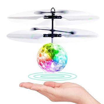 EpochAir - Dron Volador con Bola como Regalo para niños y niñas ...